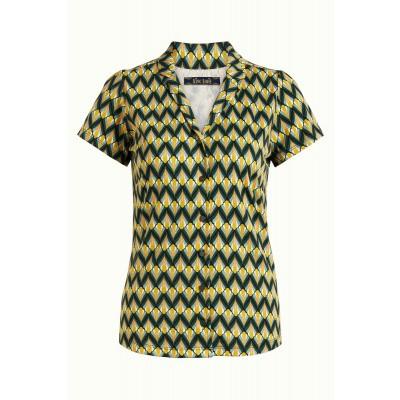Foto van King blouse viscose groen Namaste