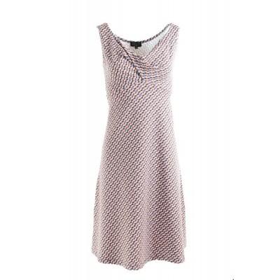 Foto van Zilch jurk katoen lavendel geometrisch