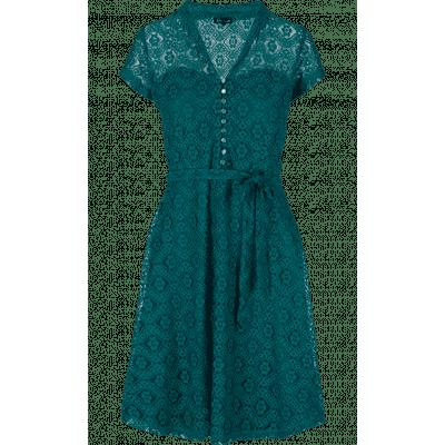 Foto van King jurk lace blauw groenDolly