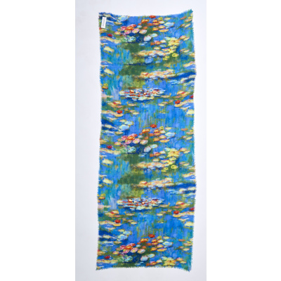 Foto van Otracosa sjaal wol 70 x 180 cm lelies 2795