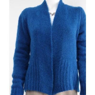 Foto van Ien & Jan vest wol blauw Kl 75/76