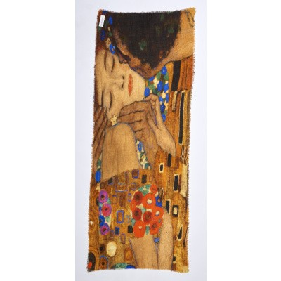 Foto van Otracosa sjaal wol 70 x 180 cm Klimt