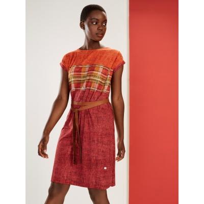 Foto van Oilily jurk viscose rood denyz