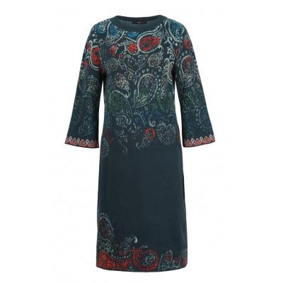 Foto van IVKO jurk cotton blauw 202642