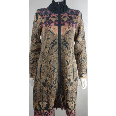 Foto van Kooi vest wol zwart 18109