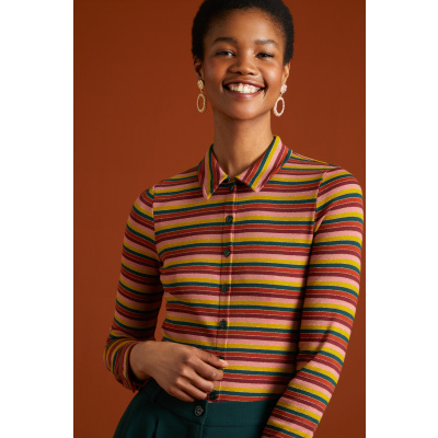 Foto van King Louie blouse reina stripe