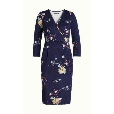 Foto van King Louie jurk tulip dress navy sunset