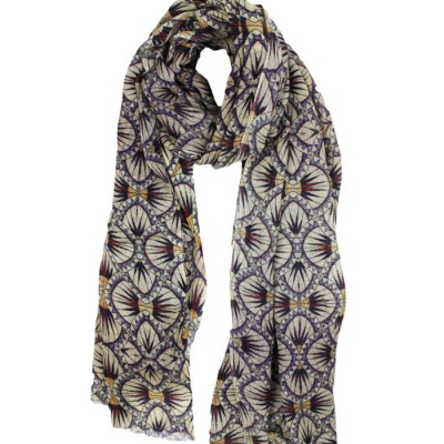 Foto van Zilch sjaal wol beige port fusion