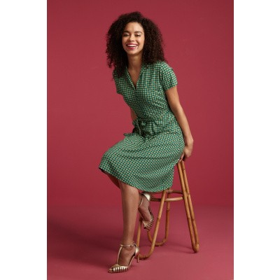 Foto van King L jurk Emmy azure groen Empire