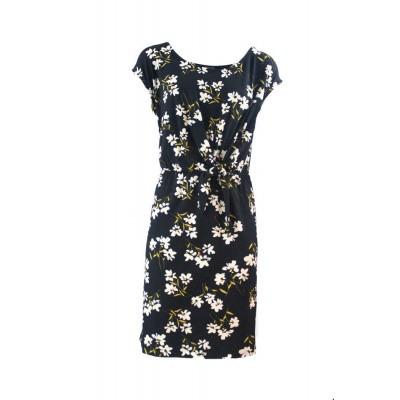 3b99079e274 Zilch jurk viscose zwart daisy