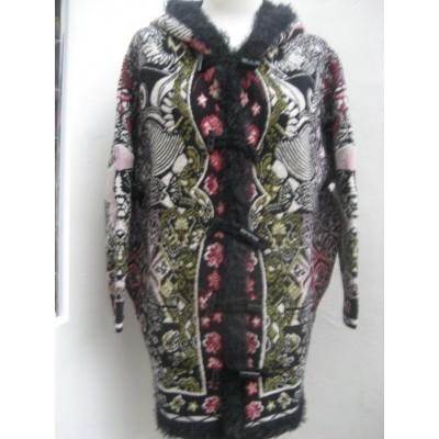 Foto van Kooi knitwear vest jas wol zwart