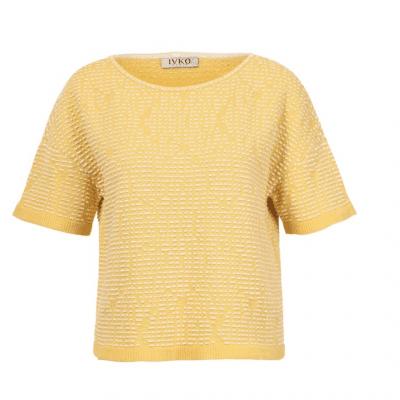 Foto van IVKO top pullover geel 201133
