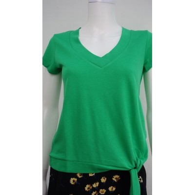 Foto van Wax t-shirt groen viscose banuk