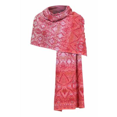 Foto van IVKO sjaal katoen mix rosewood
