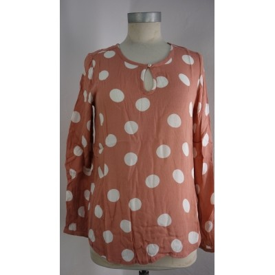 Foto van Kaffe bloesje top viscose rose amy