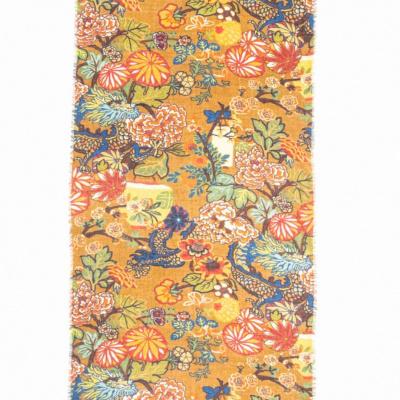 Foto van Otracosa sjaal wol 70 x 180 cm gebloemd 4162