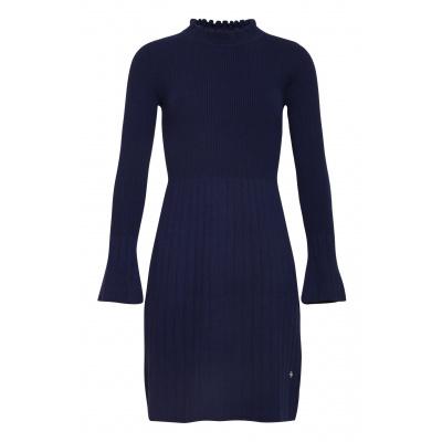 Foto van Smashed Lemon jurk blauw viscose 19684