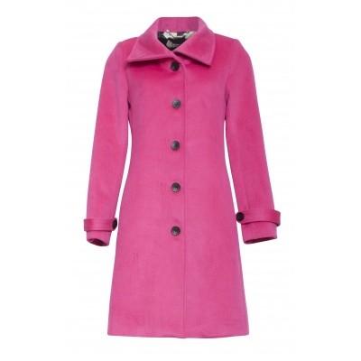 Foto van Smashed wolblend jas pink 18781