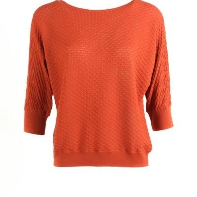 Foto van Zilch sweater katoen modal Brick