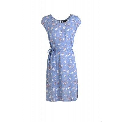 Zilch jurk viscose lavendel flowerfield