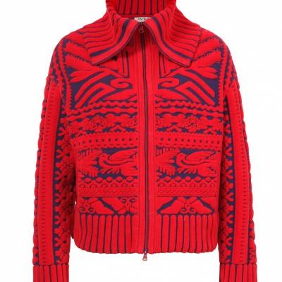 Foto van IVKO vest jasje rood blauw 192611