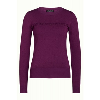 Foto van King top truitje purple Ruffle