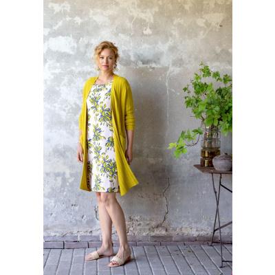 Foto van Zilch jurk viscose creme Flower Blush