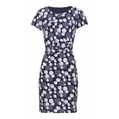 Foto van Smashed Lemon jurk blauw meerkleurig 20113