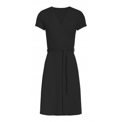 Foto van Smashed Lemon jurk zwart 20259