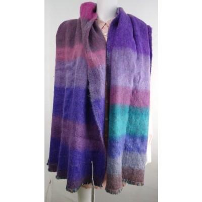 Foto van Inti sjaal handgeweven multi