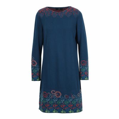 Foto van IVKO jurk cotton blauw 202640