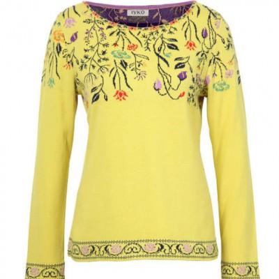 Foto van IVKO pullover top geel 191532