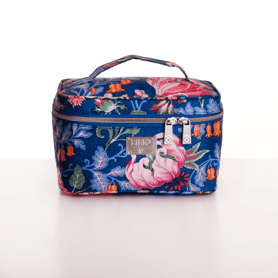Lilio Medium Beautycase blauw lil0112