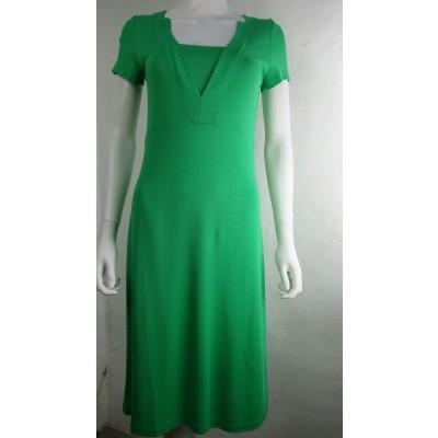 Foto van WAX jurk viscose groen stellar