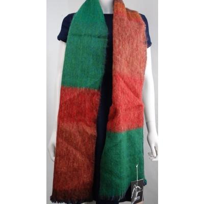 Foto van Inti sjaal wol handgeweven multi 1807L