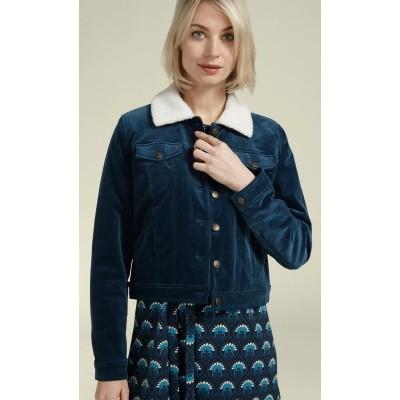 Foto van King jasje corduroy blauw Janey