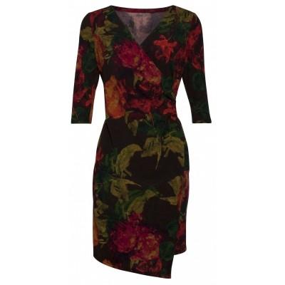 Foto van Smashed jurk viscose bloem