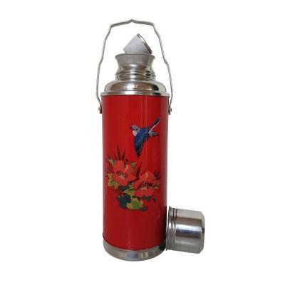 Foto van thermosfles chinees rood poppy