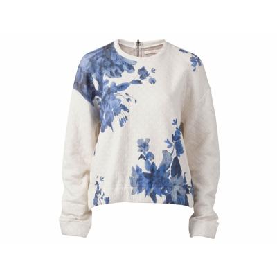 Foto van Oilily sweater top creme blauw tokyo M L XL