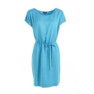Foto van Zilch jurk tencel turquoise