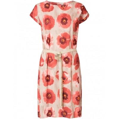 Foto van Oilily jurk viscose beige rosa Denyz