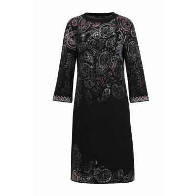Foto van IVKO jurk cotton zwart 202642