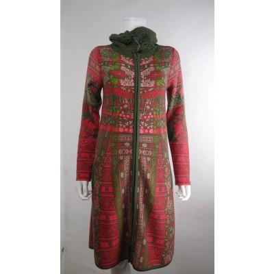 Foto van Kooi vest wol rood 18135