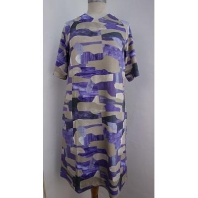 Foto van Oilily jurk visco blauw Debora