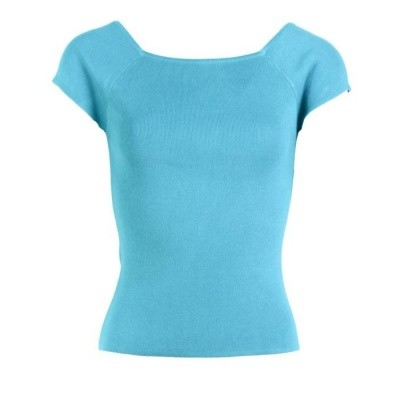 Zilch top bamboo turquoise