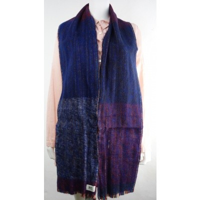 Foto van Inti sjaal wol handgeweven multi 1807