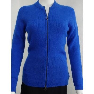 Aldo M vest mohair blauw Brigit