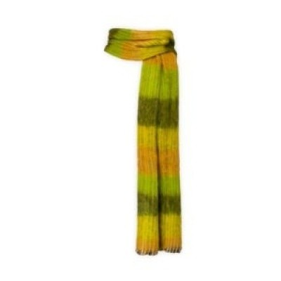 Foto van Inti sjaal wol handgeweven amarillo1701