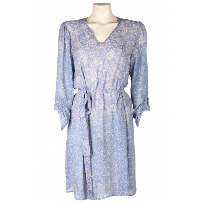 Foto van In Two jurk crepe viscose lavendel 1031