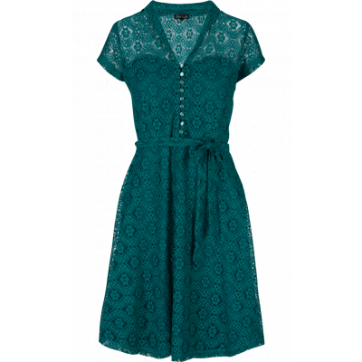 Foto van King jurk lace green Dolly